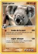 koala qui tue
