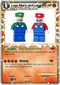 Lego Mario and