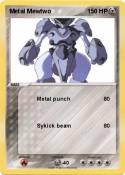 Metal Mewtwo