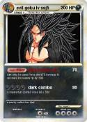 evil goku lv