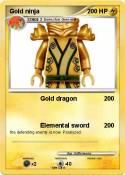 Gold ninja
