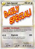 Daily Special!