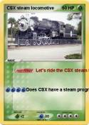 CSX steam