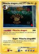 Pikachu dragon