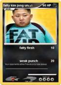 fatty kim jong