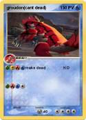 groudon(cant