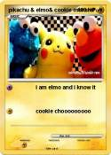 pikachu & elmo&