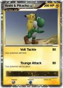 Yoshi & Pikachu