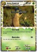 Army Squirrel