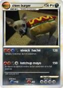 chien burger