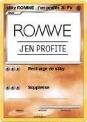 silky ROMWE ,