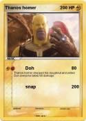 Thanos homer