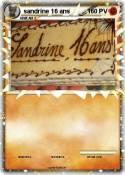 sandrine 16 ans