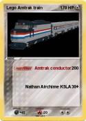 Lego Amtrak