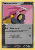 Faucheuse Homer