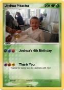 Joshua Pikachu