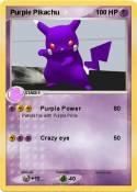 Purple Pikachu
