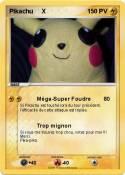 Pikachu X
