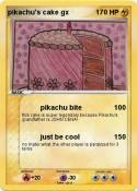 pikachu's cake