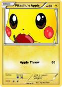 Pikachu's Apple