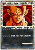 ssj9 Evil Goku