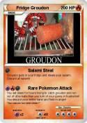Fridge Groudon