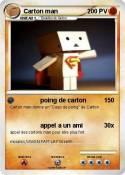Carton man
