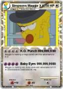 Simpsons Maggie