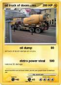 oil truck of