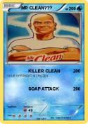 MR CLEAN???