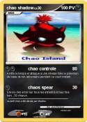chao shadow