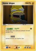 Homer dingue