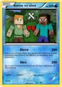 steve vs alex