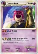 Thanos Bear
