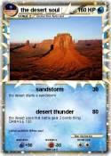 the desert soul