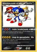 knuckles,sonic
