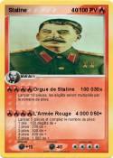 Staline 40