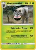 Watermelon Wolf