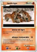 famille tigre