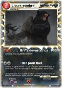 L'ours sombre