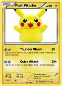 Plush Pikachu