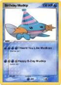 Birthday Mudkip