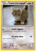 chaton tros