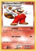 Fire Racoon