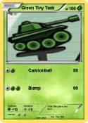 Green Tiny Tank