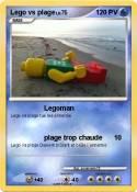 Lego vs plage
