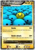 Single smile
