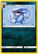 Blue Eyes White