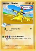 narutos Pikachu