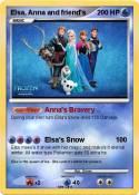 Elsa, Anna and